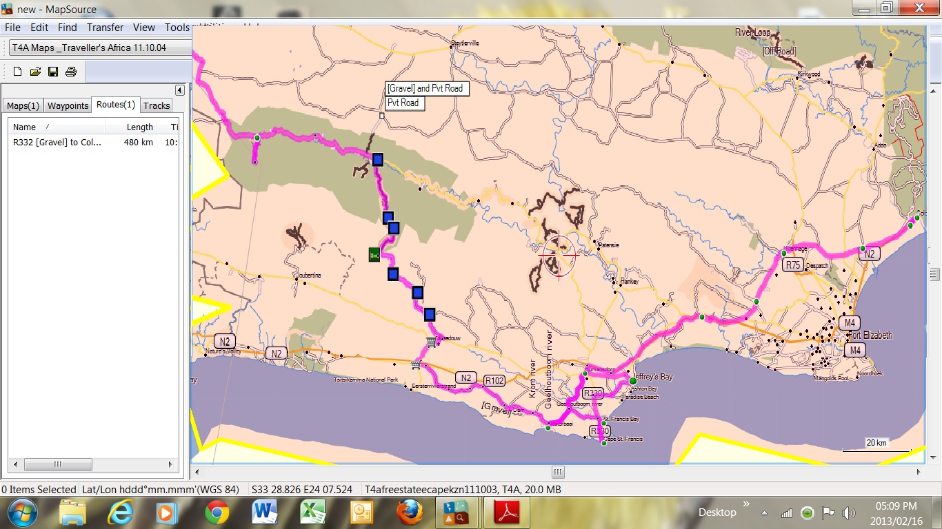 CT To Baviaans & Kareedouw 4x4 route to Oyster Bay